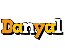 Danyal cartoon logo