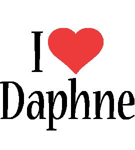 Daphne i-love logo