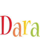 Dara birthday logo