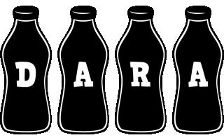 Dara bottle logo