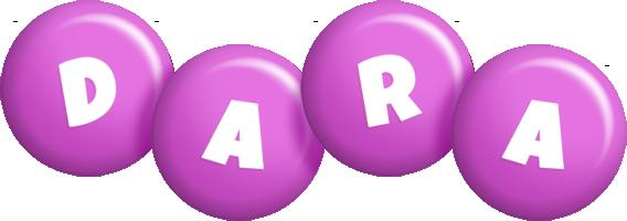 Dara candy-purple logo
