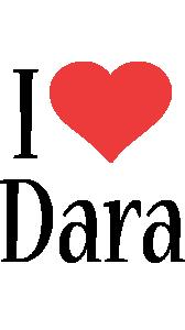 Dara i-love logo
