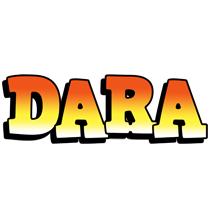 Dara sunset logo