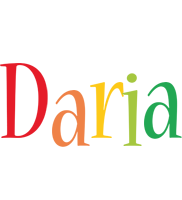 Daria birthday logo