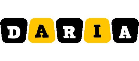Daria boots logo