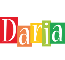 Daria colors logo