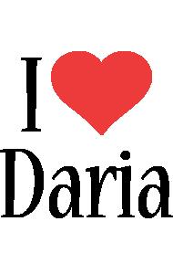 Daria i-love logo