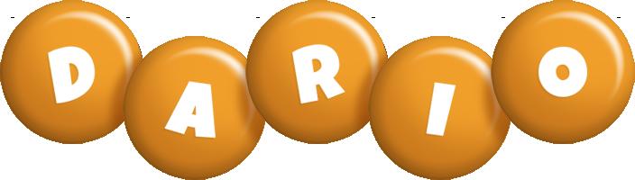 Dario candy-orange logo