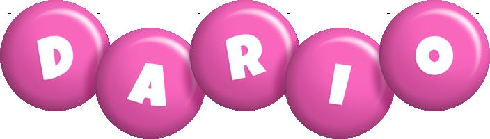 Dario candy-pink logo