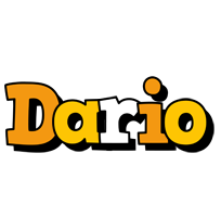Dario cartoon logo
