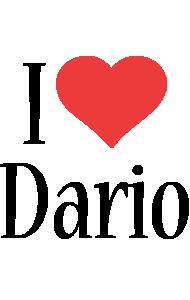 Dario i-love logo