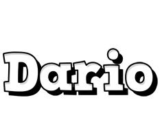 Dario snowing logo