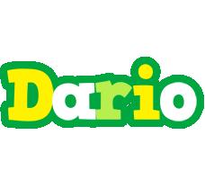 Dario soccer logo