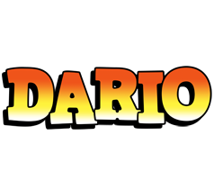 Dario sunset logo