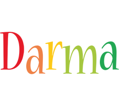 Darma birthday logo