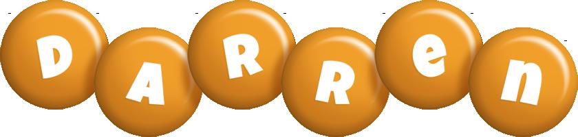 Darren candy-orange logo