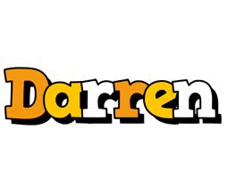 Darren cartoon logo