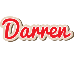 Darren chocolate logo