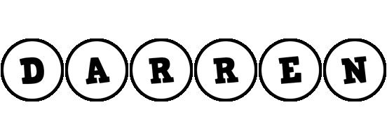 Darren handy logo