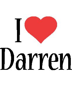 Darren i-love logo