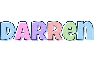 Darren pastel logo