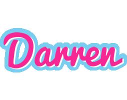Darren popstar logo