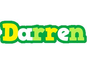 Darren soccer logo