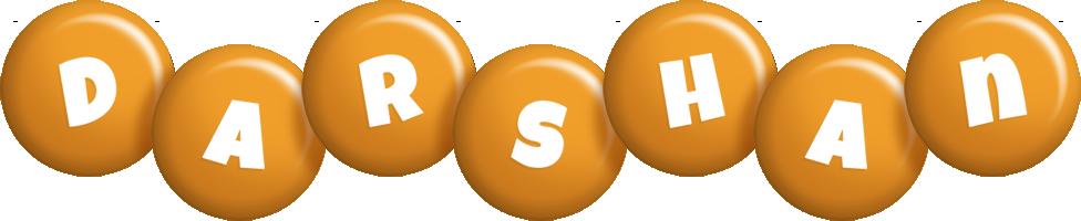 Darshan candy-orange logo