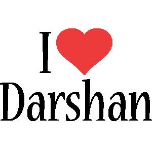 Darshan i-love logo