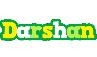 Darshan soccer logo