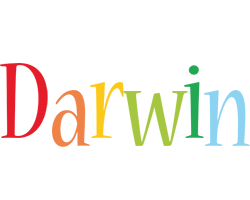 Darwin birthday logo