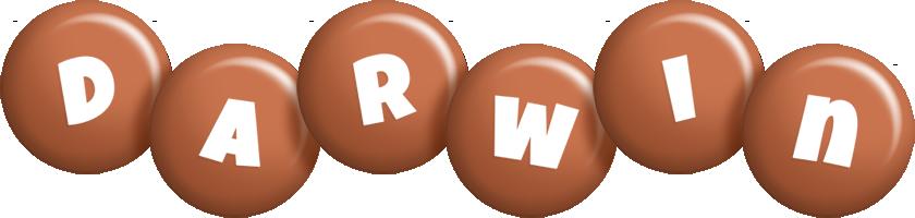 Darwin candy-brown logo