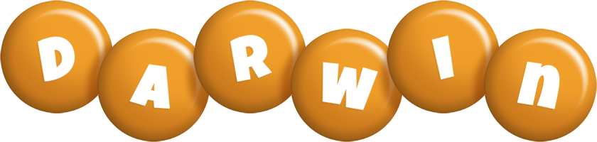 Darwin candy-orange logo