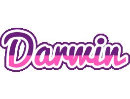 Darwin cheerful logo