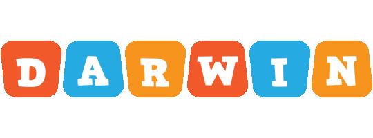 Darwin comics logo