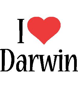Darwin i-love logo