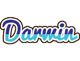 Darwin raining logo