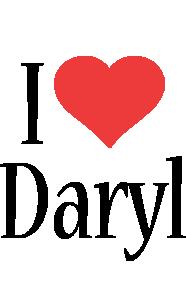 Daryl i-love logo
