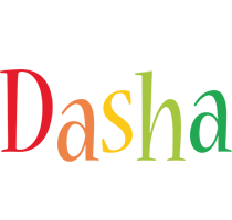 Dasha birthday logo