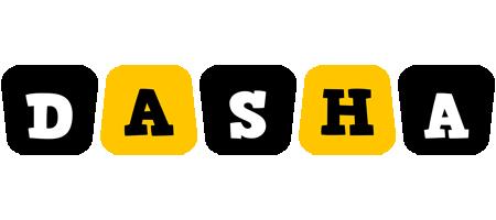Dasha boots logo
