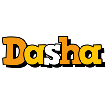 Dasha cartoon logo