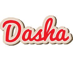 Dasha chocolate logo