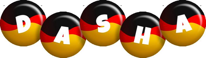 Dasha german logo