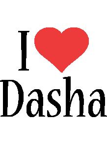 Dasha i-love logo