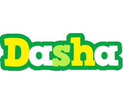 Dasha soccer logo