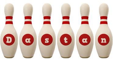 Dastan bowling-pin logo