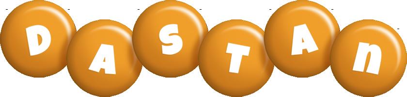 Dastan candy-orange logo