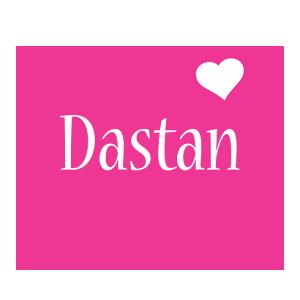 Dastan love-heart logo