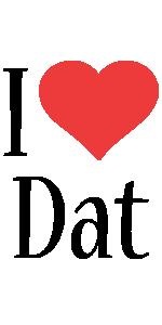 Dat i-love logo