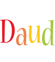 Daud birthday logo